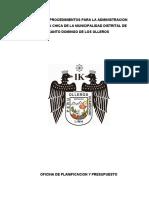 DIRECTIVA 002-2019 NORMAS Y PROCEDIMIENTOS PARA LA ADMINISTRACION DE LA CAJA CHICA