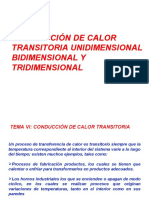 SEMANA 7 CONDUCCIÓN DE CALOR TRANSITORIA  CAP VII.ppt