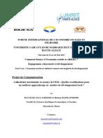Collectivités territoriales et acteurs de l'ESS