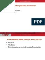 Presentación de La Información Bursátil I