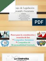 Trabajo de Legislación Mercantil y Societaria grupal listo