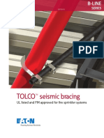 TOLCO SEISMIC BRACING