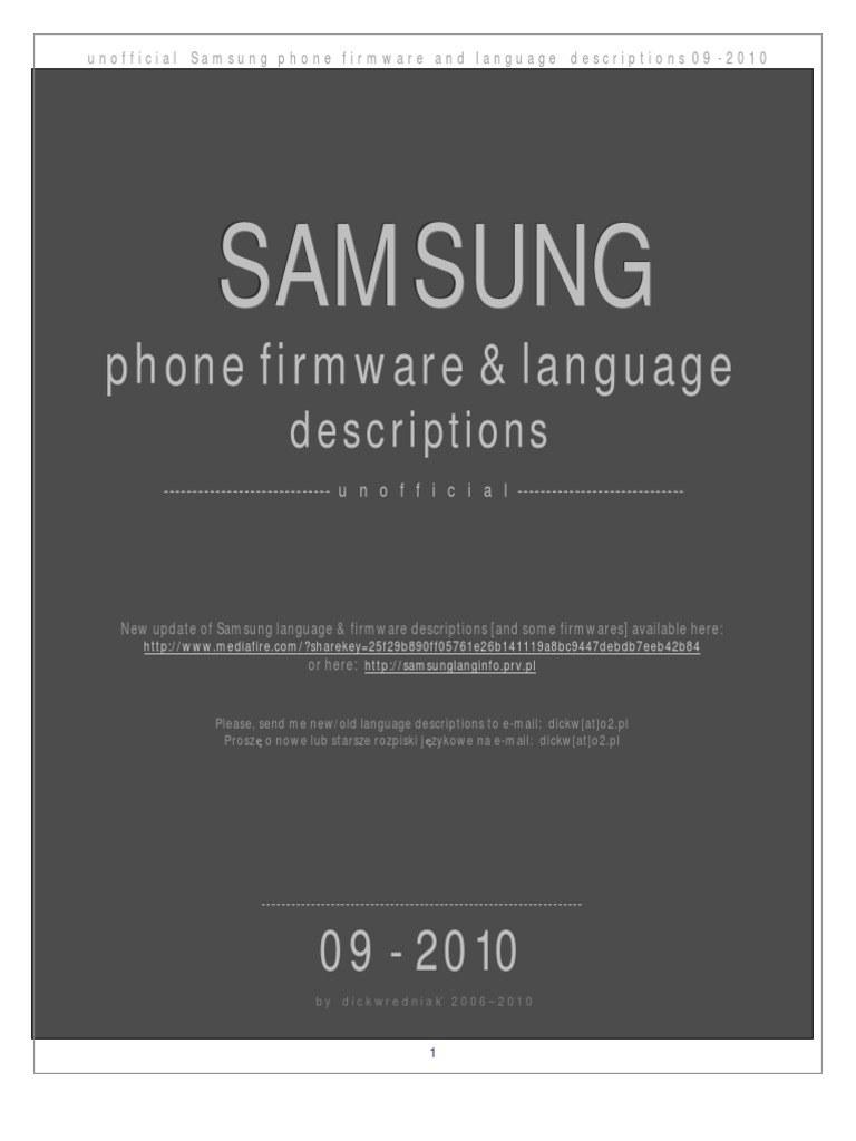 инструкция прошивка samsung gt-e2370