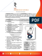 Maquina UR-057 Electrica
