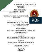Fotointerpetación R.Metamórficas
