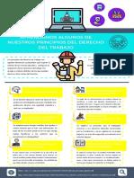 Infografia de principios de los derechos laboral by Kevin Moreno Alvarez