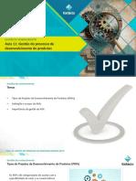 Aula 11 - Gestão do processo de desenvolvimento de produtos.pdf