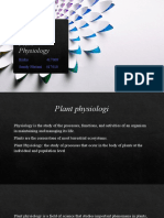 5. plant physiology
