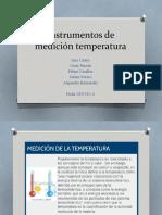 Presentacion Istrumentos de temperatura