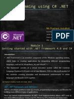 C# Module 1