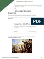 Causas de la independencia de Guatemala - Guatemala mi país