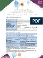 Guía de actividades y rúbrica de evaluación - Paso 1 -Responder preguntas sobre los contenidos 1 y 2
