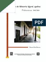 2011 - Pinto, Honorio - Publicaciones.pdf
