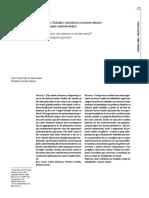 Medicina do Trabalho - subciência ou subserviência? Uma abordagem epistemológica