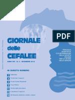 22-2012-3 dicembre Giornale Cefalee