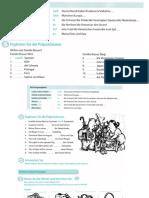 Richtungen, Urlaub, Konjunktionen I, Personalpronomen, Verben und Artikel mit Dativ
