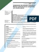 NBR 13716 1996 Equipamentos de Protecao Respiratória Máscara Autonôma de Ar Comprimido com Circuito Aberto.pdf