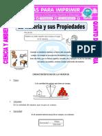Ficha-La-Materia-y-sus-Propiedades-para-Quinto-de-Primaria