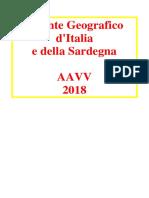 Atlante Geografico d'Italia e Della Sardegna 2018 - AAVV