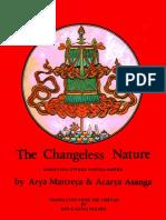 Arya Maitreya, Acarya Asanga - The changeless nature.pdf