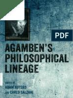 Adam Kotsko, Carlo Salzani - Agamben's Philosophical Lineage (2017, Edinburgh University Press) - libge.pdf