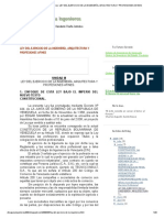 Ética para Ingenieros_ LEY DEL EJERCICIO DE LA INGENIERÍA, ARQUITECTURA Y PROFESIONES AFINES