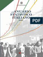 Annuario Statistico Italiano 2001