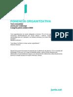 Ponencia organizativa