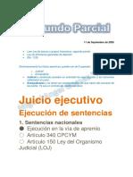 2do Parcial Derecho Procesal Civil ll Lic. Eugenia Fratti