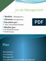 La Structure du Management