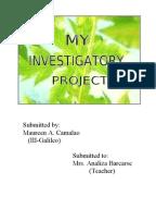 i p investigatory project