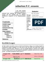 1930–31 Dumbarton F.C. Season - Wikipedia