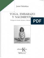 Yoga, Embarazo y Nacimiento_janet Balaskas