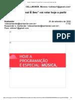 """Gmail - O Festival """"O Canal É Seu"""" Vai Rolar Hoje a Partir Das 19h"""