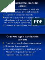 CLASES DE ORACIONES GRADO 7- SEMANA DEL 27.