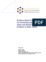 Evidence-Based Practices for Preventing Substance Abuse and Mental Health Problems in Older Adults