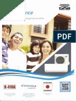 Daikin Split Advance - Condicionador de ar - Folheto informativo