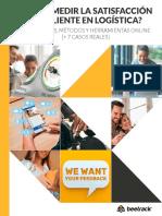 ¿Cómo medir la satisfacción del cliente en logística.pdf