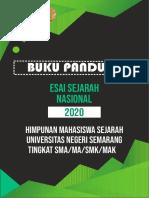 BUKPAN ESSAI NASIONAL 2020