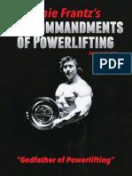 10 Commandments of Powerlifting Ernie Frantz.pdf