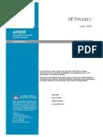 NF P94-242-1