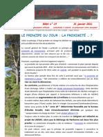 Lassac officiel billet n° 19  du 31 janvier 2011