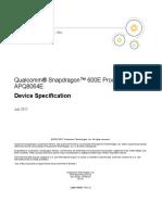 Qualcomm® Snapdragon™ 600E Processor.pdf