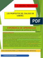 DIALOGO DE SABERES