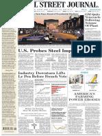 Wallstreetjournaleurope 20170421 the Wall Street Journal Europe