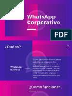 WhatsApp Corporativo