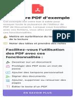 Exemple PDF