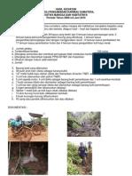 Hasil Kegiatan Patroli Pengamanan Harimau Sumatera, Satwa Mangsa Dan Habitatnya