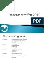 Dozententreffen 2010PPP