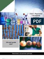 Clase 1 Reacciones y ecuaciones químicas